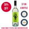 Steeple Jack 2019 Sauvignon Blanc