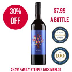 Steeple Jack Merlot