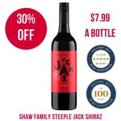 Steeple Jack Shiraz