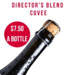 Directors Blend Brut Cuvee Clean Skins