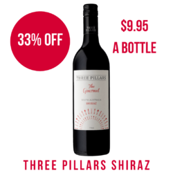 Three Pillars Shiraz