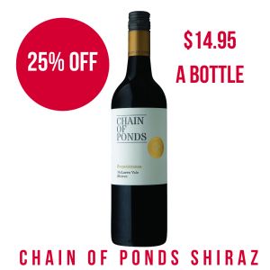 Chain of Ponds Shiraz