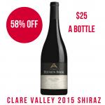 Heni's Book 2015 Clare Valley Shiraz