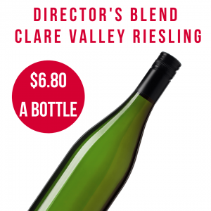 Directors blend riesling from clare valley