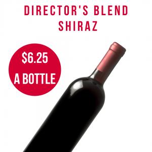 Directors Blend Shiraz Clean Skins
