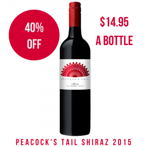 Peacock's Tail Shiraz