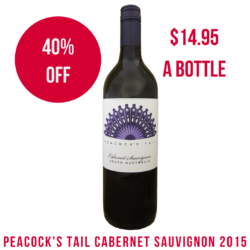 Peacock's Tail Cabernet