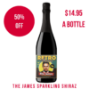 The James Sparkling Shiraz