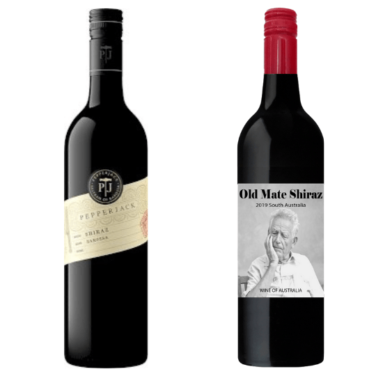 Pepperjack Shiraz Pack with Old Mate
