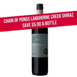Chain of Ponds Dragonfly Shiraz